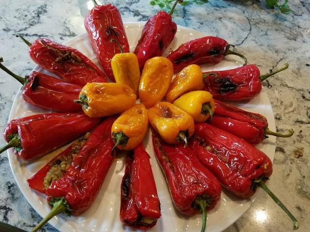 Recipes - Grilled Peppers