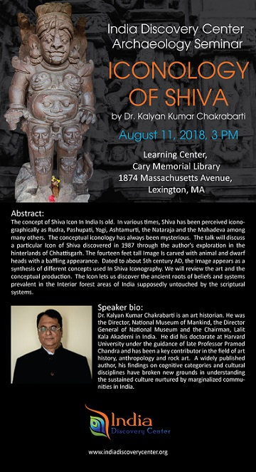 IDC Archaeology Lecture - Iconology Of Shiva