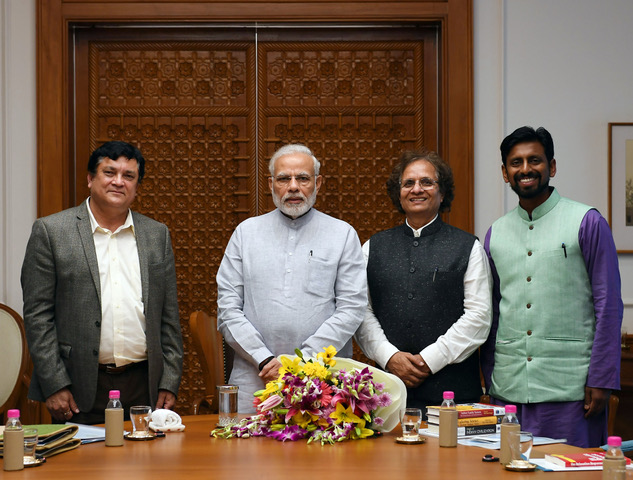 Boston Center Of Excellence Representatives Meet Prime Minister Modi To Seek Partnership With The Government Of India