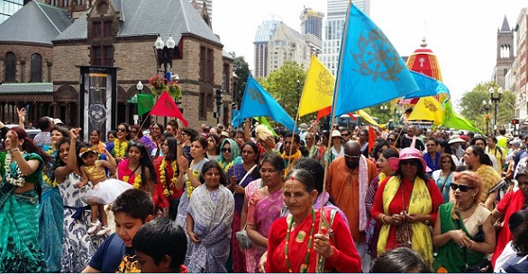 ISKCON  Celebrated Its Annual Magnificent Lord Jagannatha Ratha Yatra