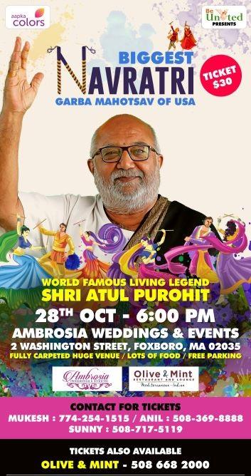 Celebrate Navratri With Shri Atul  Purohit
