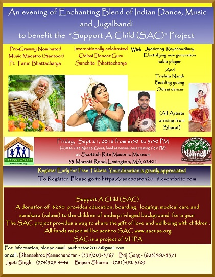 Support A Child Benefit Concert
