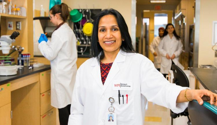 WPI Professor Reeta Rao Honored For Excellence In Teaching, Mentoring