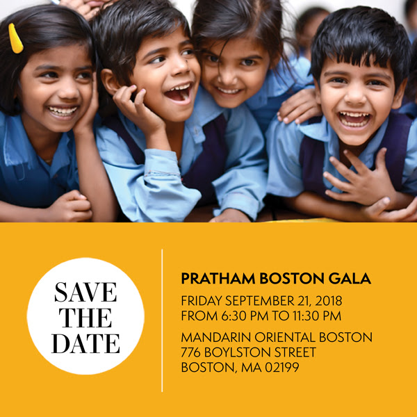Pratham Boston Gala