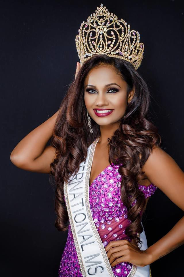 Kamini Shankar Crowned Winner Of '2019 International Ms.' Pageant