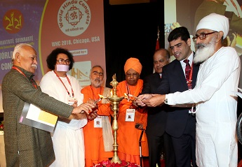 2500 Delegates Attend 2nd World Hindu Congress In Chicago