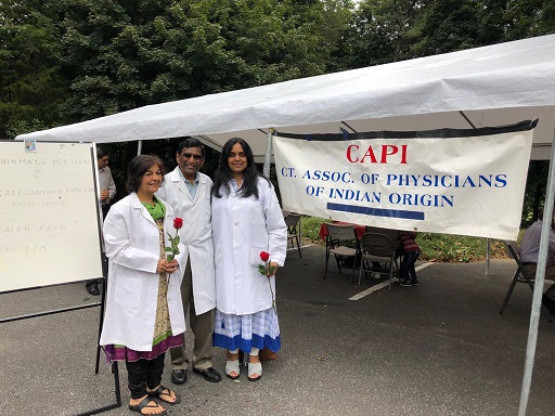 Chinmaya Ashram Successfully Concludes Their 2nd Annual Health Fair And Medical Camp