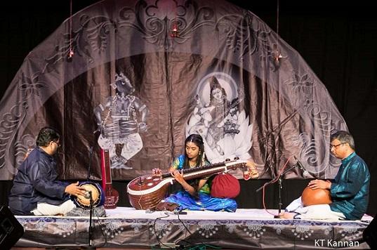 Veena Arangetram: Sanjana Sankar