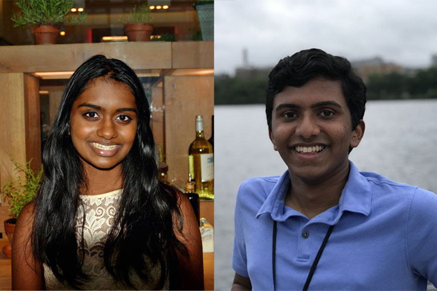 Kavya Kopparapu And Rahul Subramaniam Receive $50,000 Each As 2018 Davidson Fellows Laureates