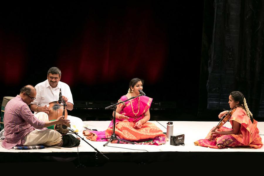 Carnatic Vocal Arangetram: Hamsa Shanmugam