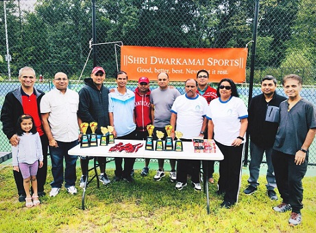 Shri Dwarkamai Sports Team Successfully Organizes Their Seventh Annual Tennis Tournament