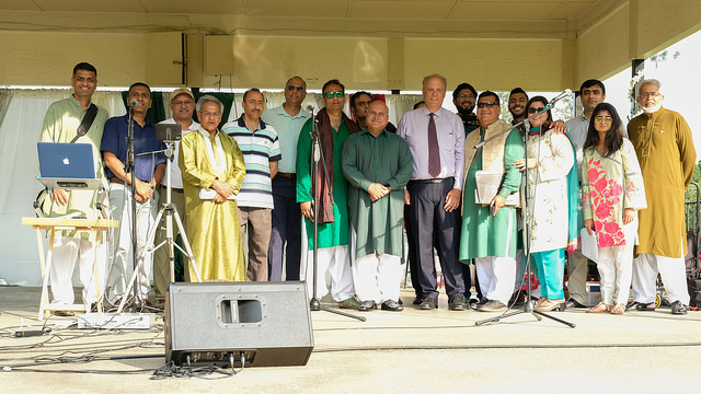 Independence And Eid Mela Day Event Draw Hundreds To Celebrate
