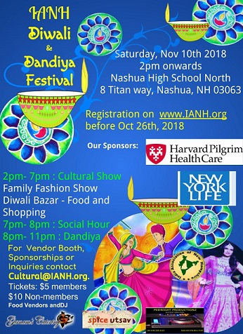 IANH All Geared Up To Present The IANH Diwali And Dandiya Festival 2018