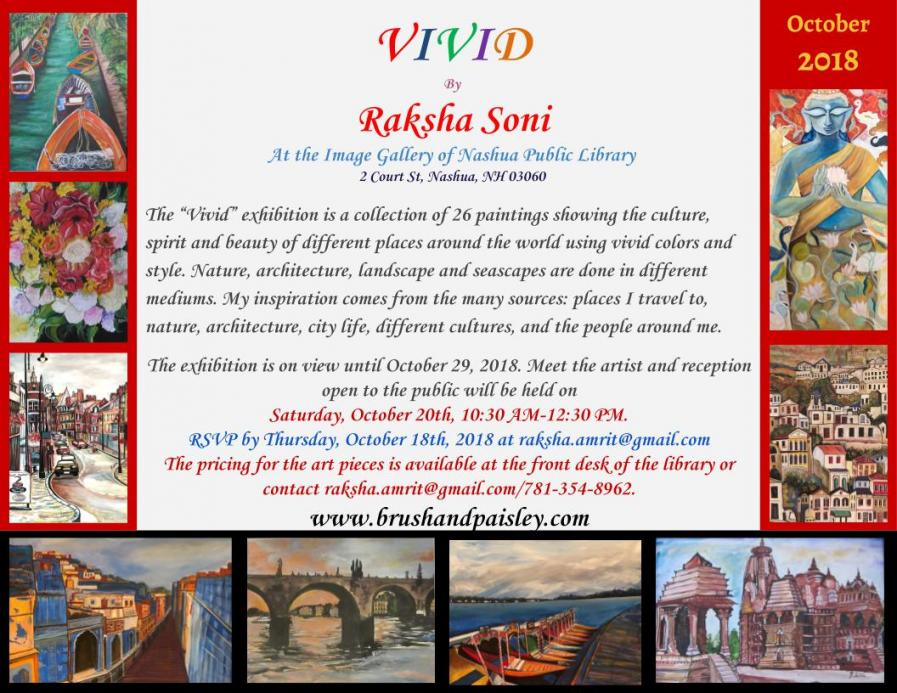 'Vivid' Art Exhibition By Raksha Soni