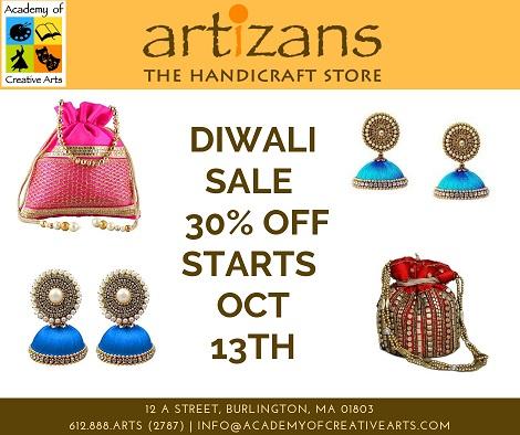 Academy's Handicraft Store 'Artizans' - Diwali Sale