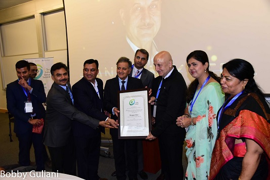 Anupam Kher Honored In Boston By India Global As A Distinguished Fellow