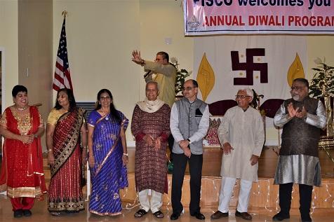 Friends Of Indian Senior Citizens Organization's Diwali Dinner Celebration
