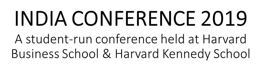 2019 India Conference At Harvard
