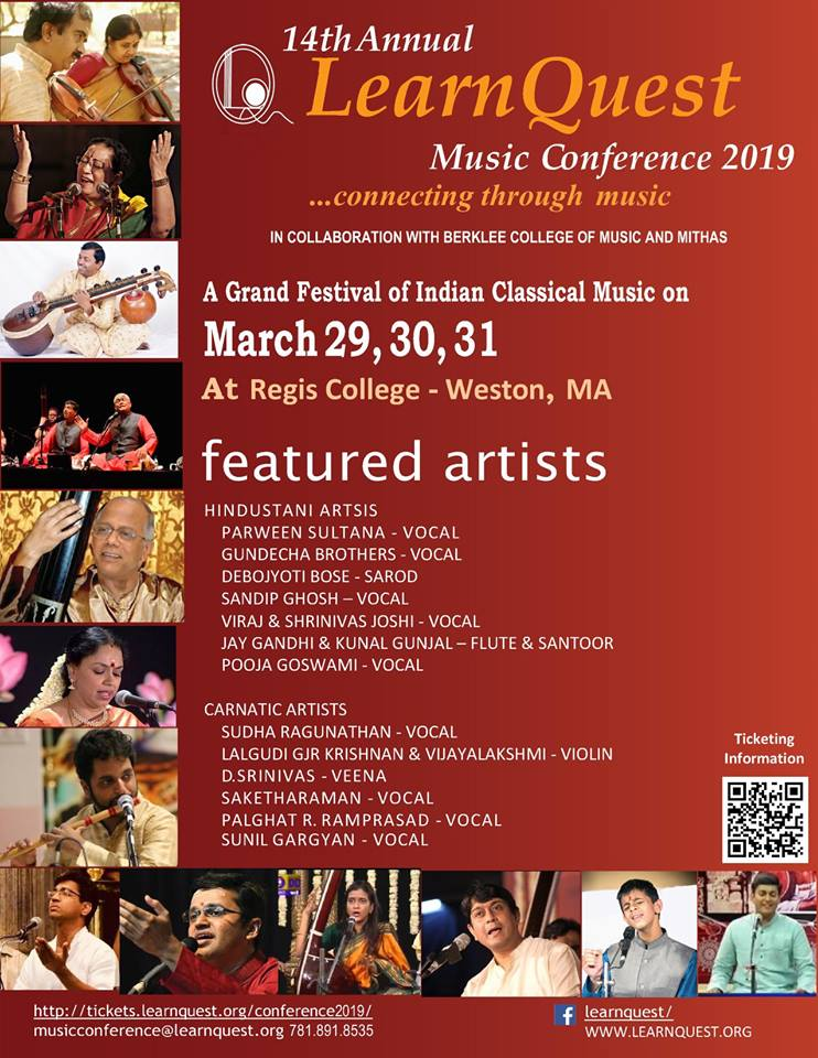 14th Annual Learnquest Conference To Celebrate Indian Classical Music