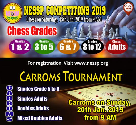 Carrom And Chess Competitions At NESSP