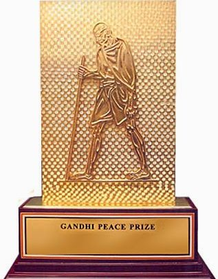 Ekal Wins Gandhi Peace Prize