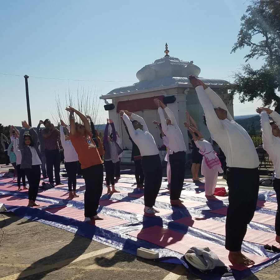Hindu Swayamsevak Sangh USA Successfully Completed Its 12th Annual Health For Humanity Yogathon!