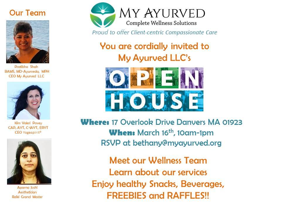 Dr. Pratibha Shah: My Ayurveda Open House