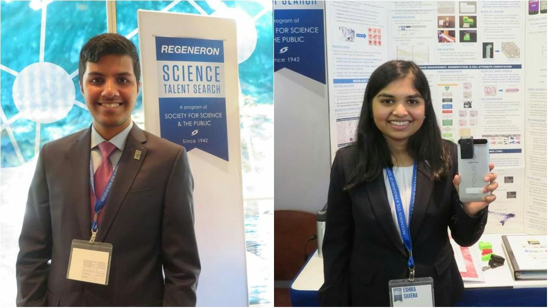 Adam Ardeishar, Eshika Saxena Among Top Winners In <br>2019 Regeneron Science Talent Search
