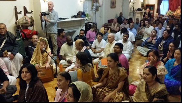 ISKCON Boston Celebrates Gaura Purnima