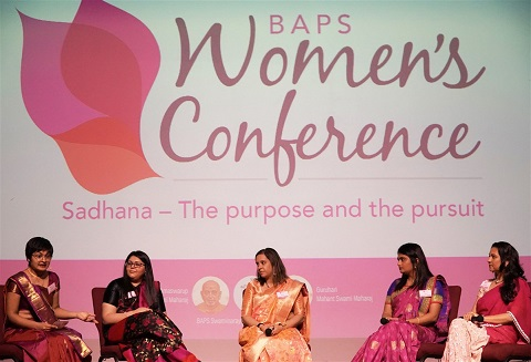 BAPS Women's Conference Inspires Young  Women Towards Their Goals