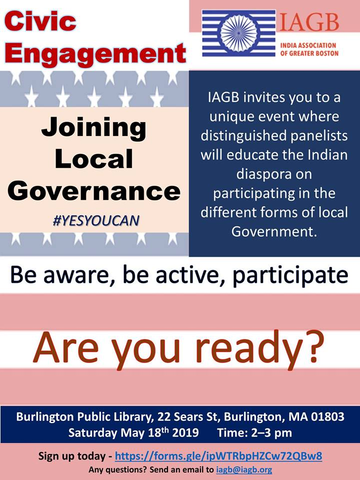 IAGB Organizes A Panel Discussion About How To Get Involved In Your Town Governance