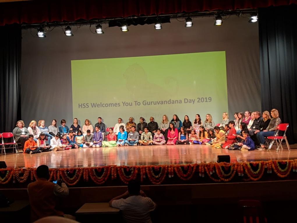 HSS Hosts Guru Vandana