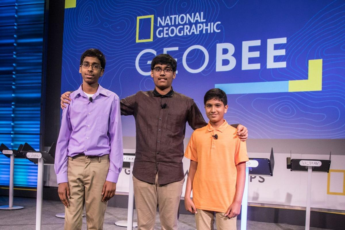 Nihar Janga Atreya Mallanna And Rishi Kumar Dominate National Geographic Bee
