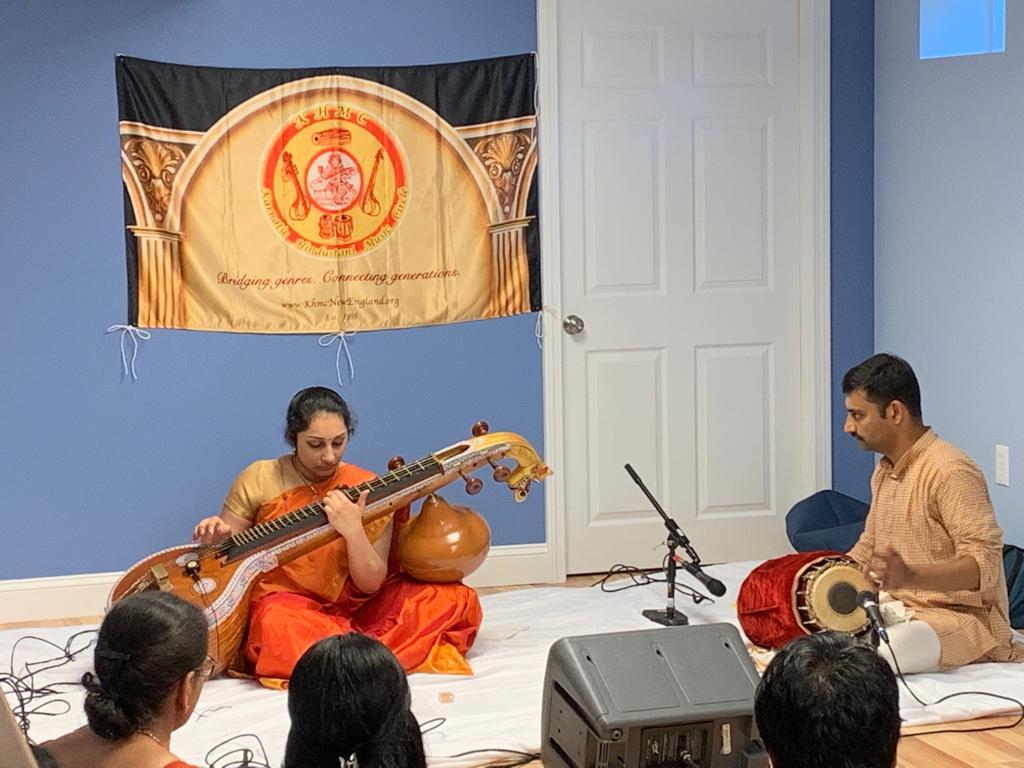 KHMC Carnatic Concert<br>Sahana Venkatesh, Veena; Krishna Gopal Saikripa, Mridangam