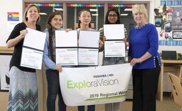 Kainath Kamil Led Team Named Winner Of The ExploraVision Competition