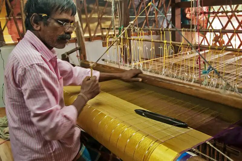 Indian Villages And BharatSthali Handloom Fabrics: A Befitting Reply To Fast Fashion And Ecological Damages