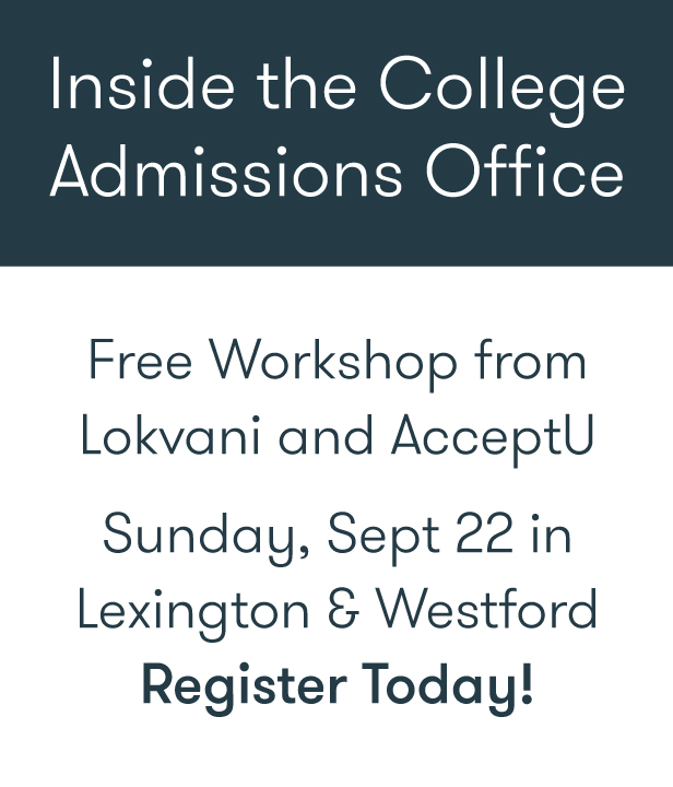 Lokvani College Admission Workshops