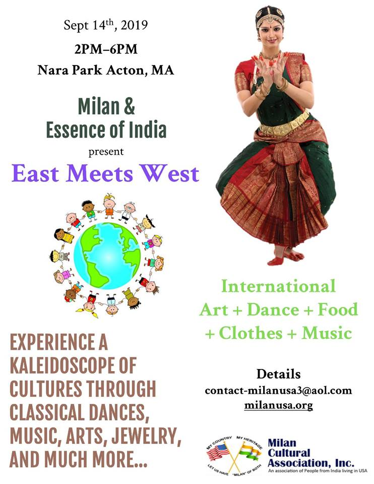 Milan And Essence Of India Present East Meets West