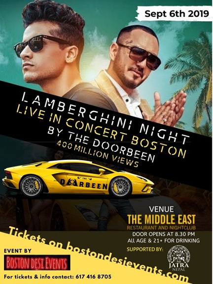 The Doorbeen Song Prada: Lamberghini Duo Comes To Boston