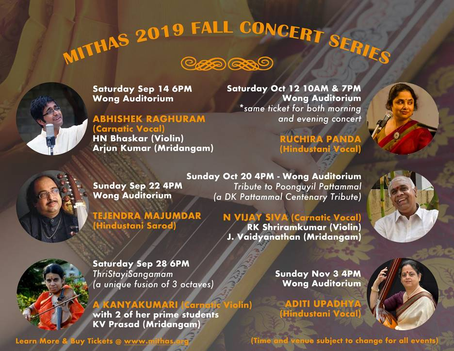 MITHAS Fall 2019 Concert Series