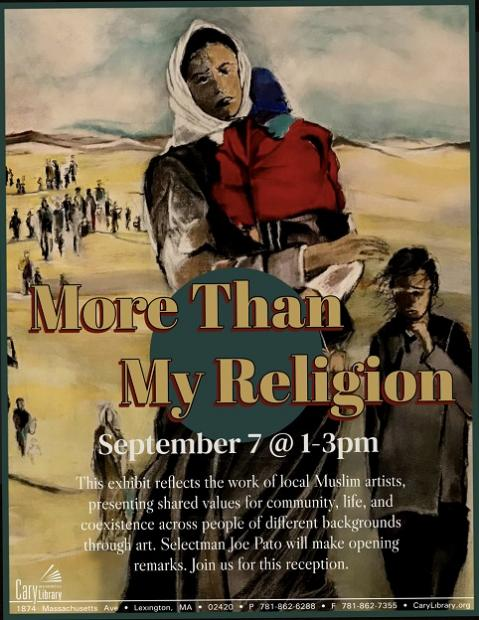 More Than My Religion - Art Exhibition