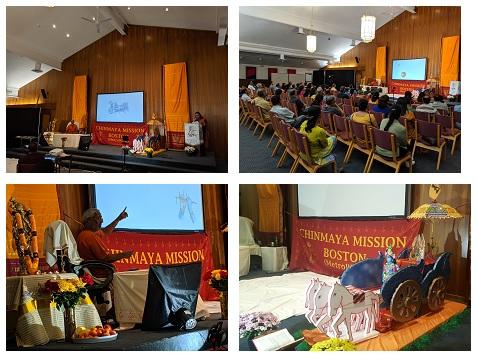 Swami Ramakrishnananda Makes Bhagavad Gita Easy And Fun