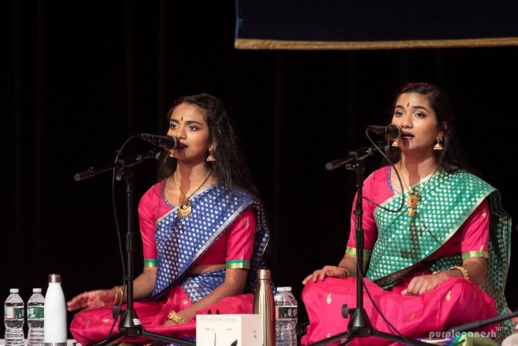 Carnatic Vocal Arangetram: Vaibhavi And Utsavi James
