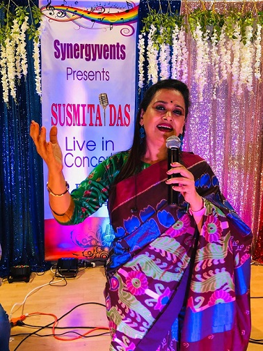 Smt. Susmita Das' Scintillating Inaugural Performance At Boston