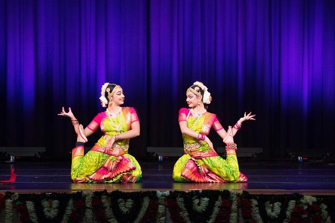 Arangetram: Arohi Bhowmik And Sonal Gupta