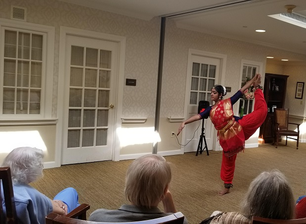 Smita Rajan - Natyaseva For Seniors