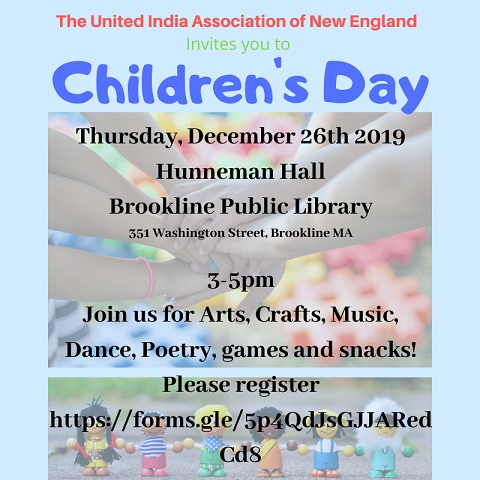 United India Association To Hold Its First Ever Children's Day