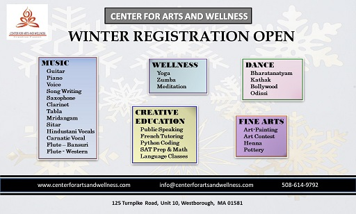 Center For Arts And Wellness - New Classes In The New Year!