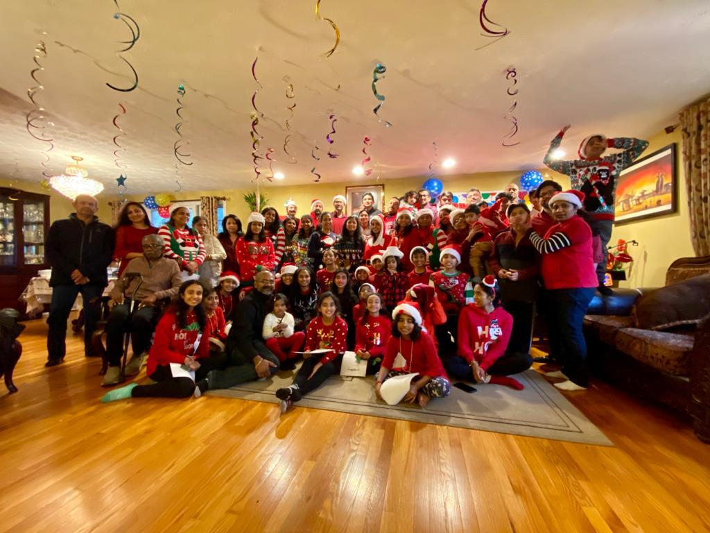 Indian Americans In CT Celebrate Christmas: Commit To Help Homes Destroyed By Floods