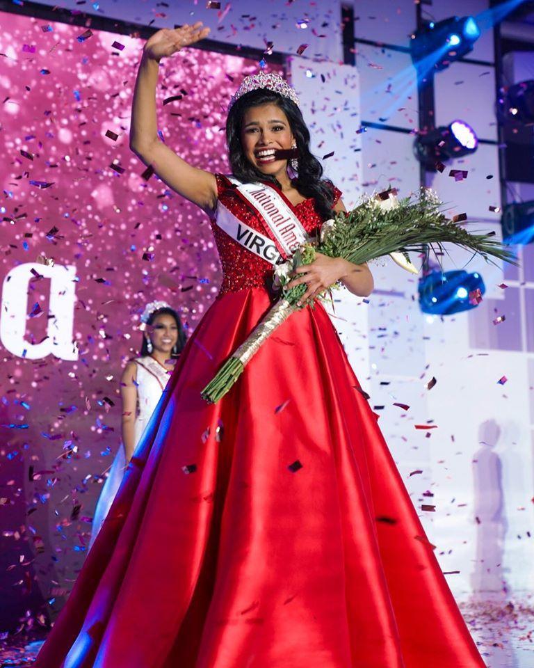 Virginia's Anjali Nair Crowned National American Miss Jr. Teen 2019-2020
